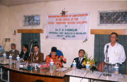 Inauguration of e-Governance in DTO Shillong