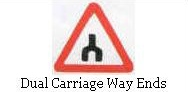 Dual Carriage Way ends