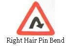 Right Hair Pin Bend