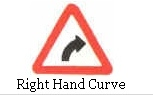 Right hand curve